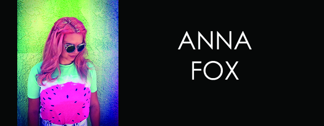 Playwright Profile: Anna Fox